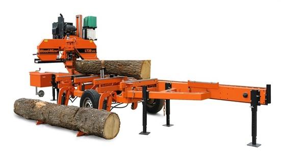 Mobilt sågverk säljes